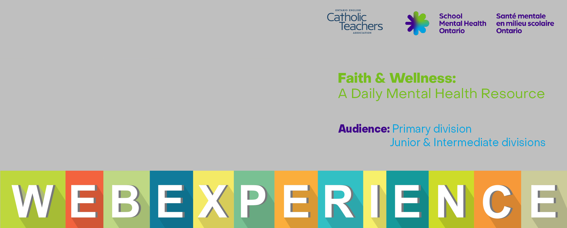 Faith and Wellness 2020 WebExperiences